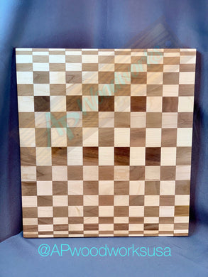 Checker Board Cutting Board
