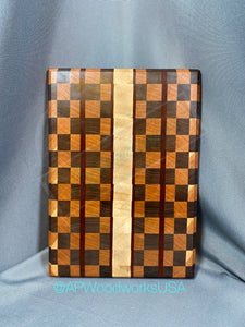 End Grain Checkerboard Cutting Board