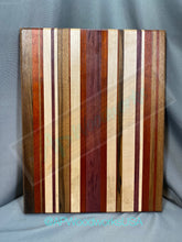 Load image into Gallery viewer, Extra Large Stripped Cutting Board
