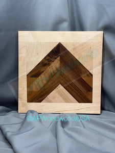 SOLD Chevron Cutting Board