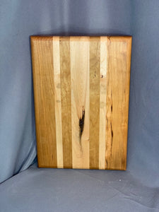 SOLD Cherry and Maple Striped Board