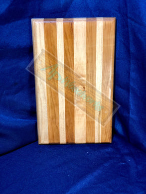 Cherry and Maple Lines Cutting Board