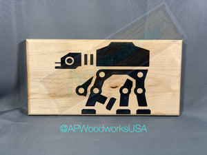 AT-AT Walker Cutting Board