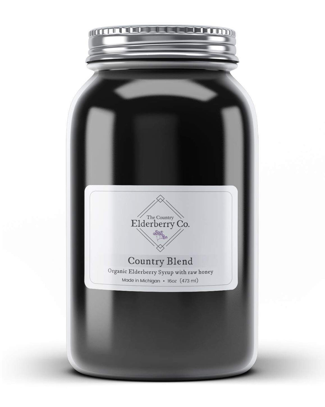 Elderberry syrup made with organic ingredients. Raw honey. preservative and filler free. Used to treat cold, flu and seasonal allergies. Made with Raw honey.