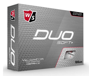 Wilson Staff Duo Soft golf balls (12 Pack)