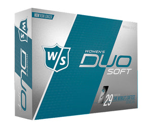 Wilson Staff Duo Soft Womens Golf Balls (12 Pack)