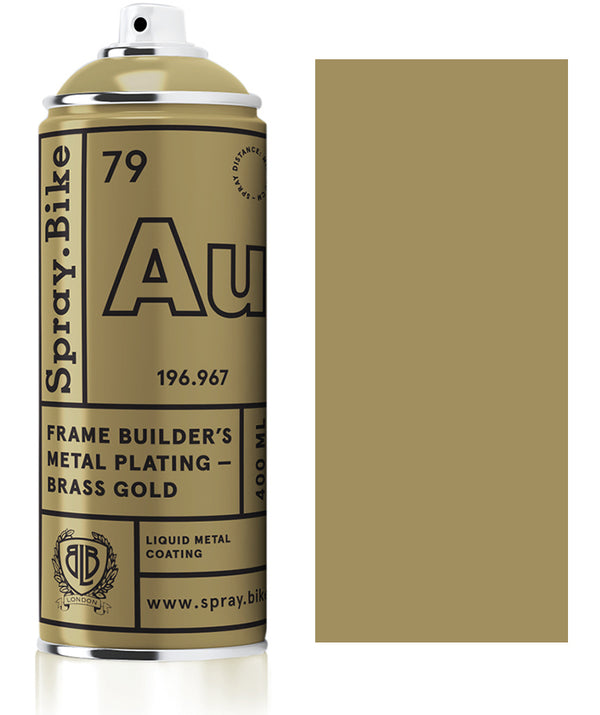 Frame Builder's Metal Plating - Messing Gold - 400ml