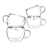 Universe Double Wall Glasses - Set of Four