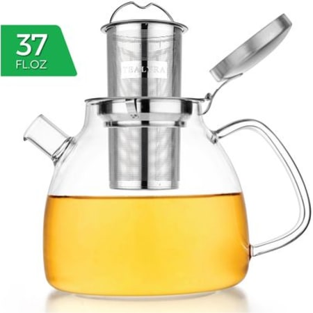 Lyra Glass Teapot Kettle