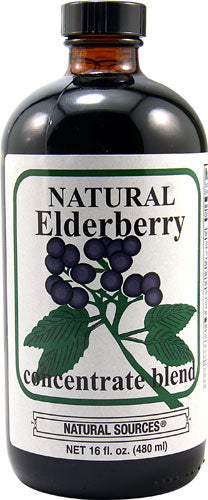 Natural Elderberry Concentrate Blend 8oz