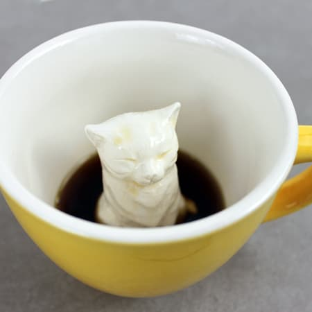 Creature Cups - Cat(yellow)