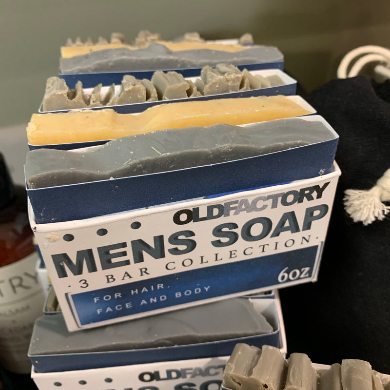 Old Factory Men's Soap Sampler