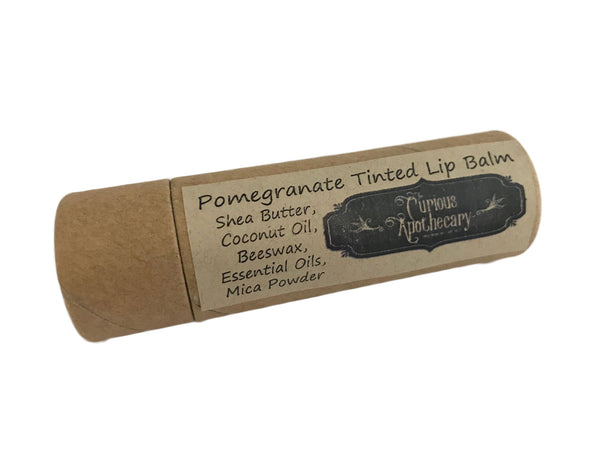 Jumbo Tinted Lip Balm Pomegrantate or Blood Orange