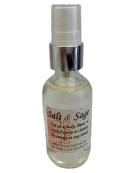 Salt & Sage Smudge Spray