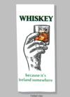 Bad Grandma Hand Towel - Whiskey, Because It's Ireland Somewhere