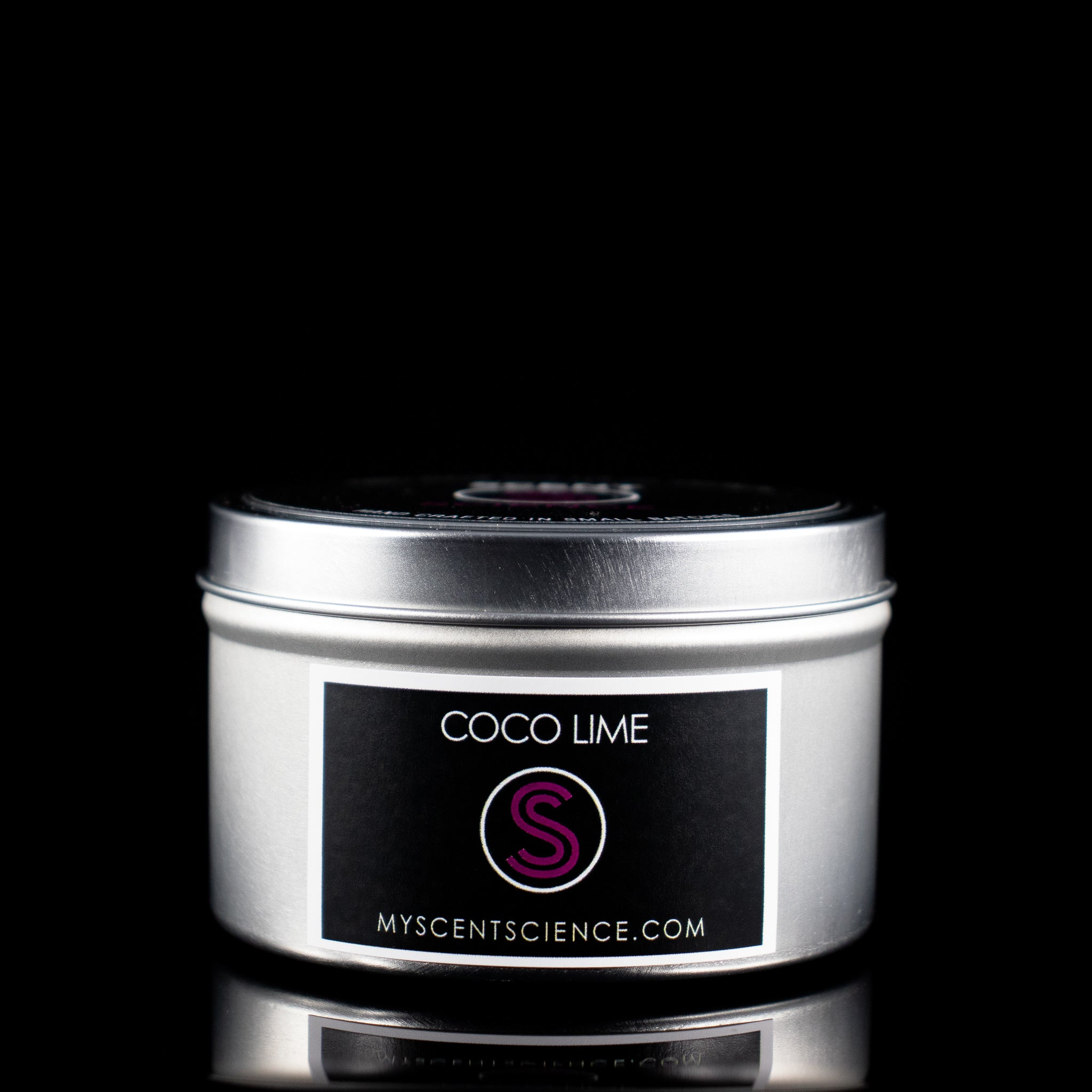 Coco Lime Travel Tin