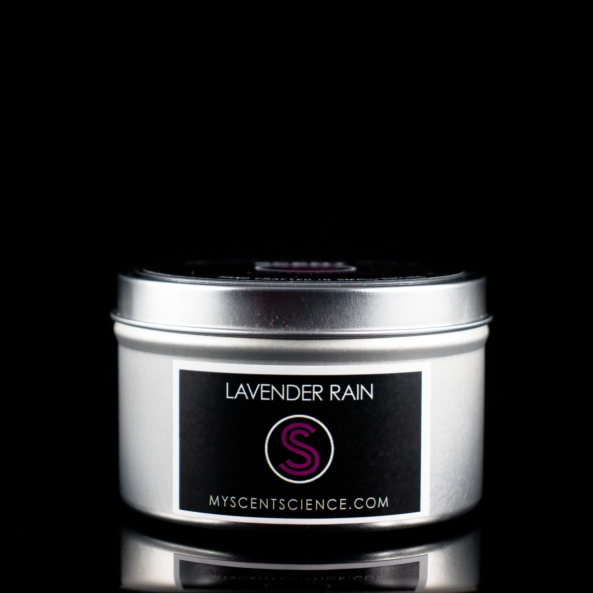 Lavender Rain Travel Tin