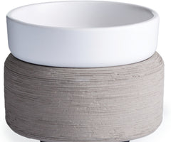 2 in 1 Wax Warmer-Grey