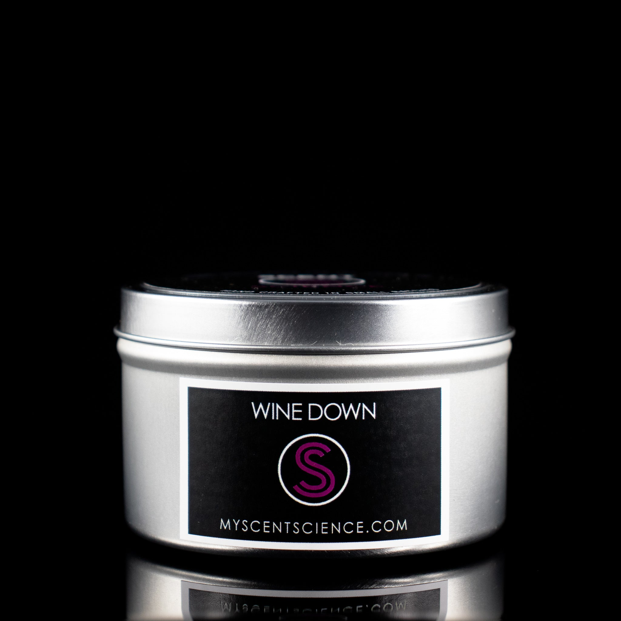 Wine Down Travel Tin