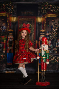 Timeless Vintage~ Nutcracker Baby - Cranberry