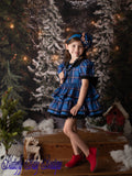 Vintage Couture Nutcracker Plaid-Blue~ Ready to ship