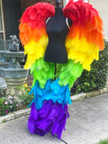 Couture Wings Rainbow Baby ~ Rental Only~