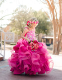 Cascading Loopy Floral Couture Rental