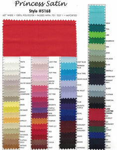 Princess Satin Solids