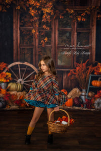 Vintage Couture~ Insanely Poofy Plaid and Simple
