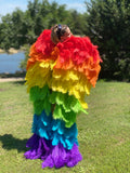 Couture Angel Wings~ Rainbow Baby