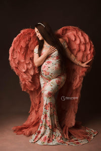 Couture Wings Roses Blush ~ Rental