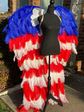 Couture Angel Wings~ God Bless America