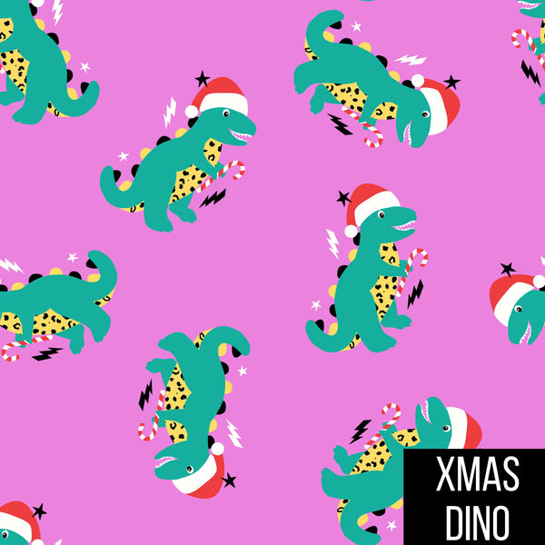 Harem romper/shorties in xmas dinos
