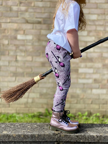 Brooms kids leggings