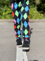 Exclusive diamond leggings
