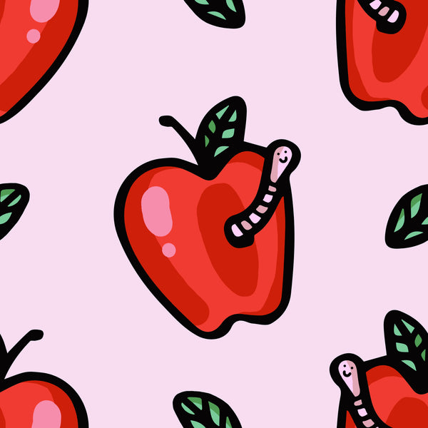 Pink apples 90's dress