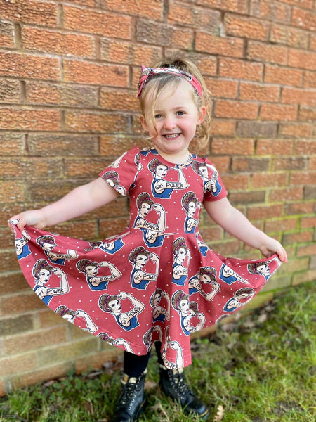 Girl Power Twirly dress