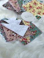Reusable wipes - squares