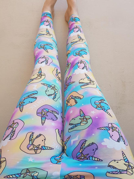 Adult leggings - EK exclusive, Eccentric dinos
