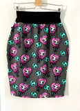 Ghoul friend ladies pencil skirt