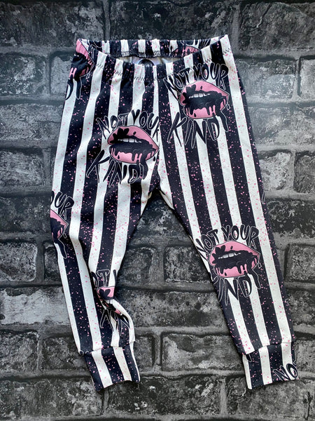 Not your kind kids leggings