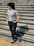 Eccentric Dino Ladies short sleeve tee