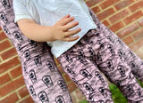 Pink coffin adults leggings