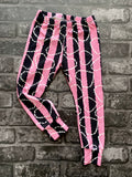 Bone hearts kids leggings