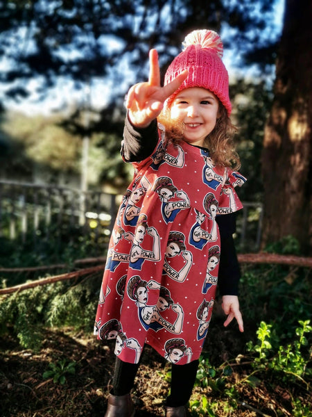 Girl Power dotty dress