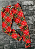 Tartan kids leggings