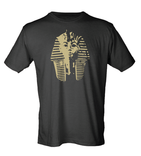 Metallic Gold Deathmask Tee