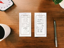Load image into Gallery viewer, iPhone X Sticky Notes, 3 Pack