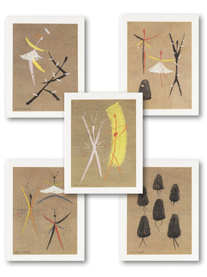 Isamu Noguchi - 'Dance' Notecard | M+ Shop | Exhibition Special