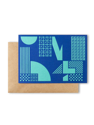 Cover of M+ Thank You Card with envelope
